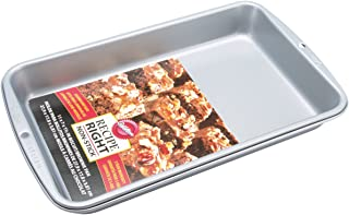 "Wilton Recipe Right Non-Stick In Biscuit Brownie Pan, 11"" x 7"" x 1-1/2"""