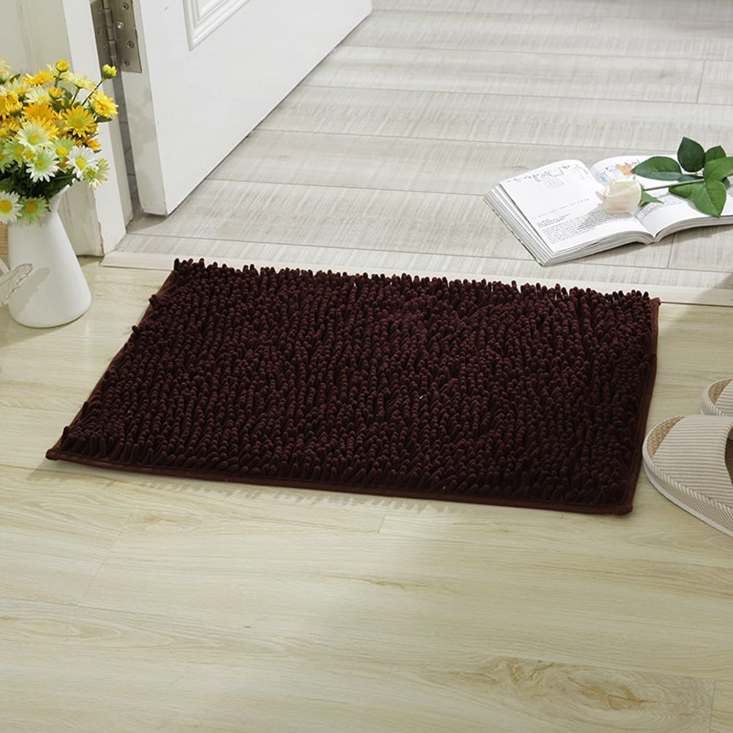 Household mats Toilets Bathroom mats Doormat Bathroom Non-Slip mats Door mats in The Hall Water-Absorbing mat at The Door-Q 80x120cm(31x47inch)