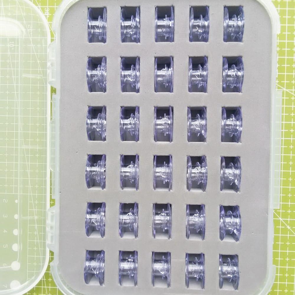 Performance-N/ähmaschine 30 St/ück//Box YICBOR Spulen f/ür Pfaff Expression und Creative