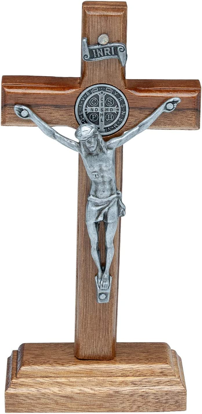 Intercession Wall and Table Baltimore Mall Wood New color Cross 5 - inch Crucifix Onyx