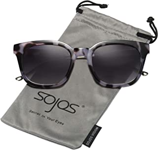0afe5f9098 SOJOS Classic Polarized Sunglasses for Women Men Mirrored Lens SJ2050
