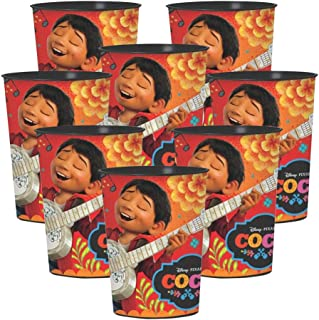 BirthdayExpress Coco Party Suplies Plastic Favor Cup for 8