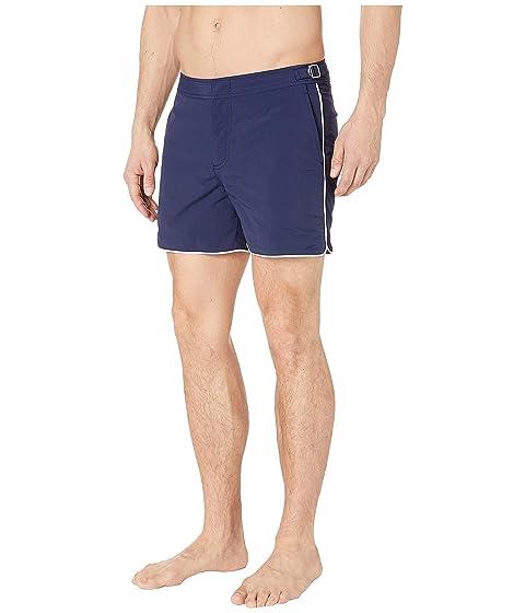 fa83c24b26bbe Orlebar Brown Setter Piping Swim Shorts at Luxury.Zappos.com