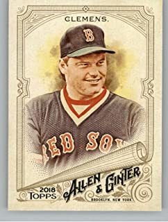 2018 Topps Allen and Ginter #233 Roger Clemens Red Sox Baseball Card