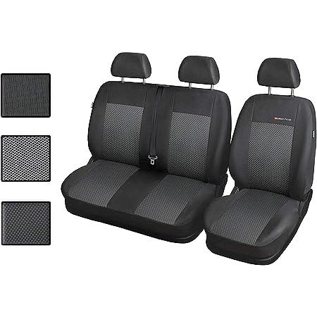 Carpendo Sitzbezüge Auto 1 2 Transporter Autositzbezüge Schonbezüge Vorne Mit Airbag System Elegance P3 Auto