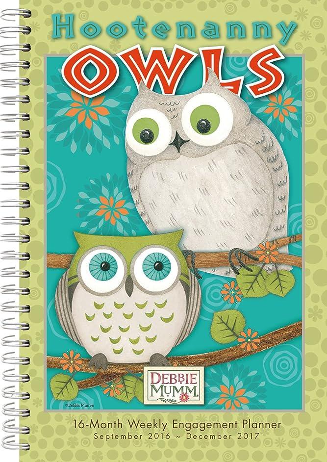 口径口径気候の山Hootenanny Owls 2017 Weekly Planner