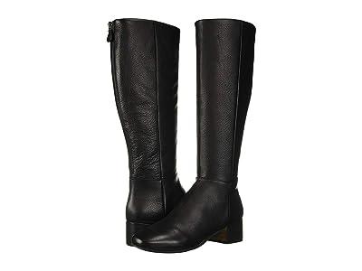 Gentle Souls by Kenneth Cole Ella Back Zip Boot (Black Leather) Women