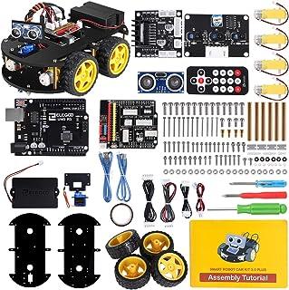 ELEGOO UNO R3スマートロボットカーV3.0+ 電子工作教育的おもちゃ、全年齢対象ロボット
