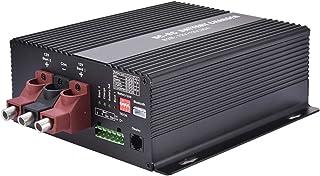 Thorityau 12 V/30 A DC till DC-laddare med Bluetooth Automatisk smart batteriladdare, automatisk smart B2B-laddare, laddar...