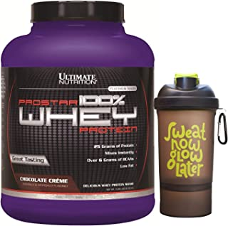 Best Ultimate Nutrition Prostar Whey Protein Powder Blend of Whey Concentrate Isolate and Peptides – Low Carb, Keto Friendly, 25 Grams of Protein - 80 Servings, Chocolate Crème, 5 Pounds Review