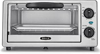 Bella 4-Slice Countertop Toaster Oven