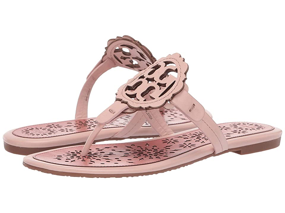 Tory Burch Miller Scallop Sandal (Sea Shell Pink/Tramonto) Women