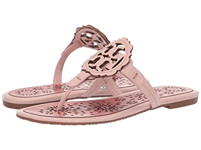 Tory Burch Miller Scallop Sandal (Sea Shell Pink/Tramonto) Women