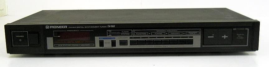 Pioneer TX-960 FM/AM Digital Synthesizer Tuner w/ FL Digital Display