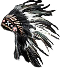 native american chief feather headdress