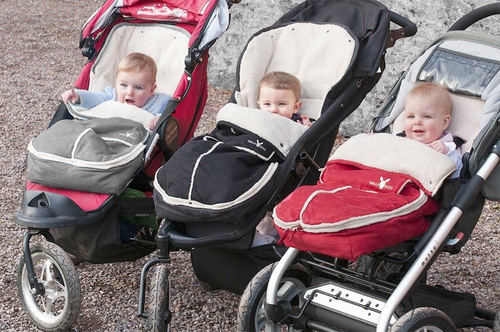 muy Pr/ácti universal de 6 a 36 meses Es ideal para cochecitos de beb/é Wawallaboo Manta para beb/é resistente al viento y al agua