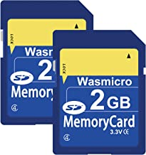 Memory Card Bell /& Howell Rogue DNV6HD Camcorder Memory Card 2 x 2GB Standard Secure Digital 1 Twin Pack SD