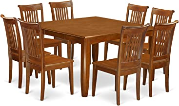 Best 8 person square table Reviews
