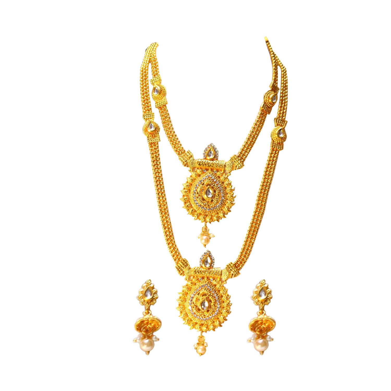 Buy Swarajshop ethnic tradtional kundhan latest bridal jewellery ...