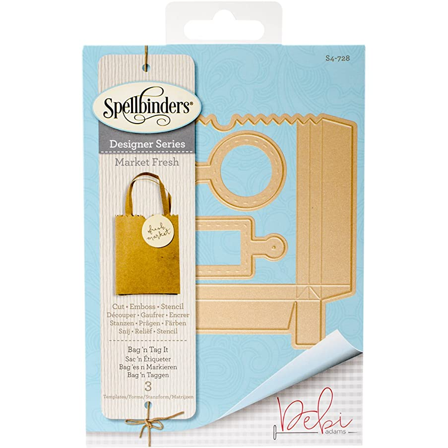 Spellbinders Etched/Wafer Thin Dies, Bag 'N Tag It it