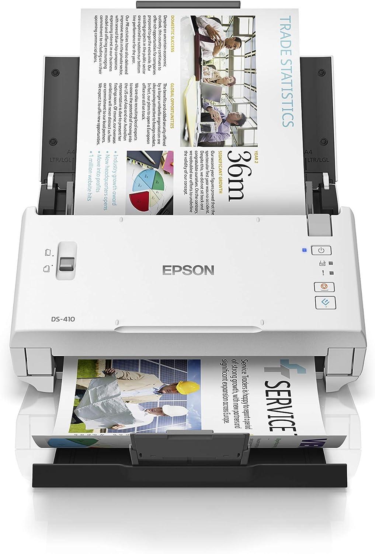 Epson WorkForce DS 211 Dokumentenscanner DIN A211, 211dpi, USB 21.21,  Beidseitiges Scannen in einem Durchgang