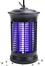 Micnaron UVA Insect Killer, 2019 New Upgrade Bug Zapper, Electric Mosquito Killer lamp with Hanging and Switch, Best Indoor Mosquitoes/Moths/Insect Zapper for Bedroom,Kitchen and Office