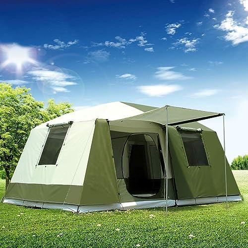 YANABC Tente de fête familiale en Plein air Grande Tente de Camping étanche
