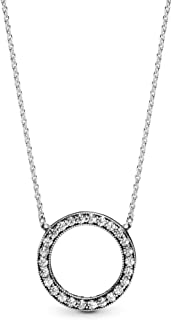 Pandora 590514CZ-45 Women's Sterling Silver Necklace