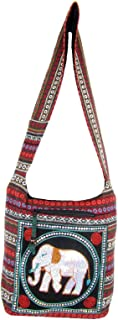 Aztec Yoga Crossbody Elephant Hippie Boho Bag