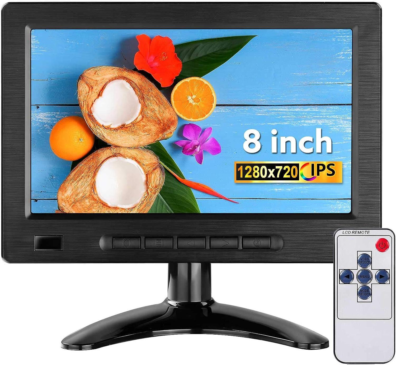 Eyoyo Small 1280x720  8-Inch  IPS 16:9 Monitor $51.99 Coupon