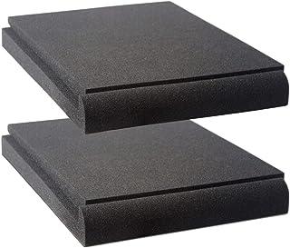 Vocalbeat - almohadillas para orejas de aislamiento para monitor de estudio (para altavoces de 16,5 a 20,3 cm) - Espuma ac...