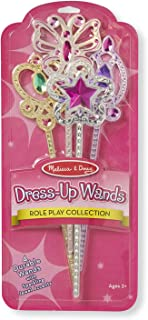 Melissa & Doug Dress-Up Wands for Costume Role Play (4 pcs)