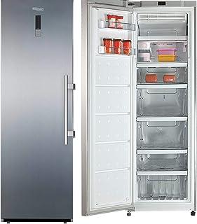 Super General 400 Liters Upright Freezer, Inox - SGUF401NPFD