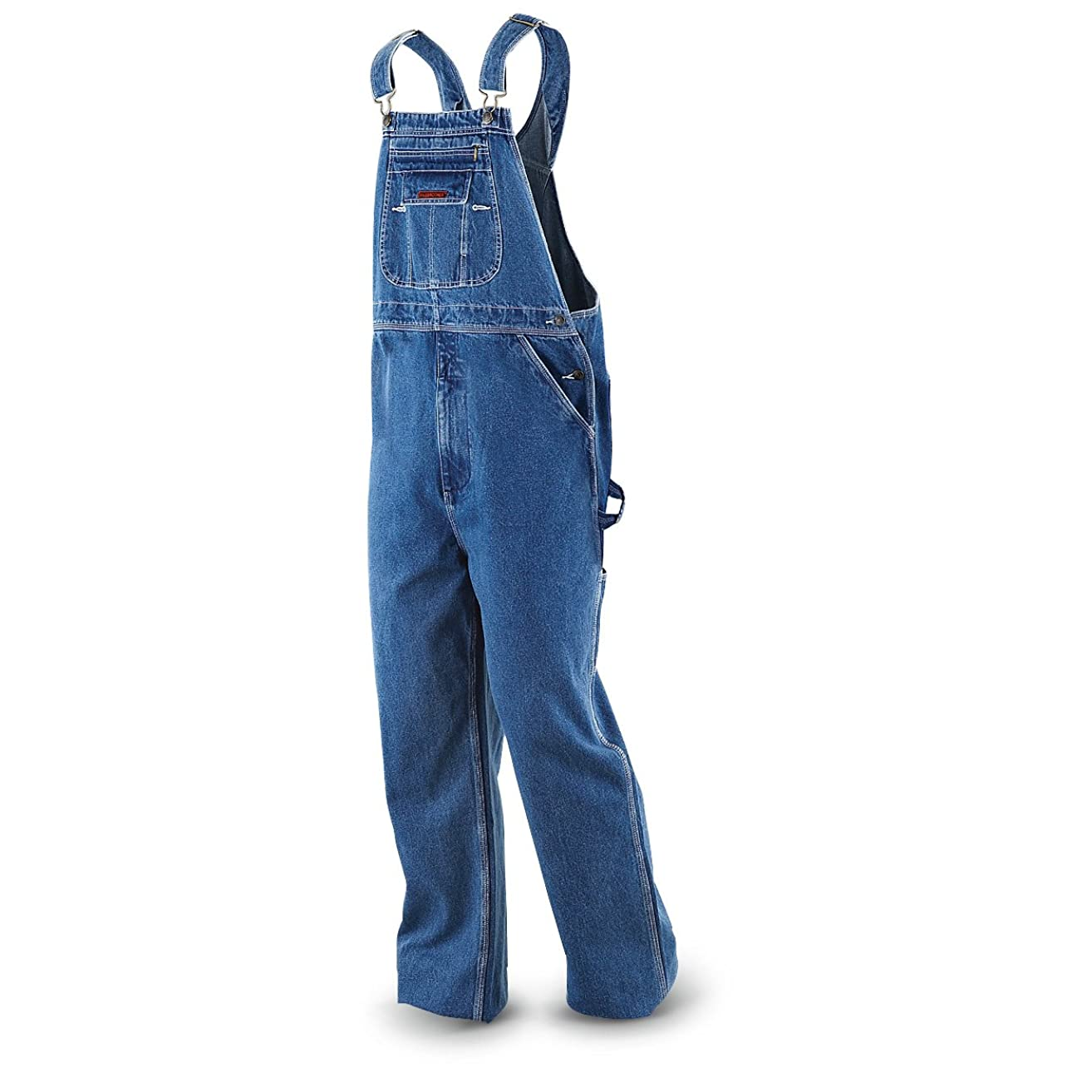 Five Brother Denim Bib Overalls