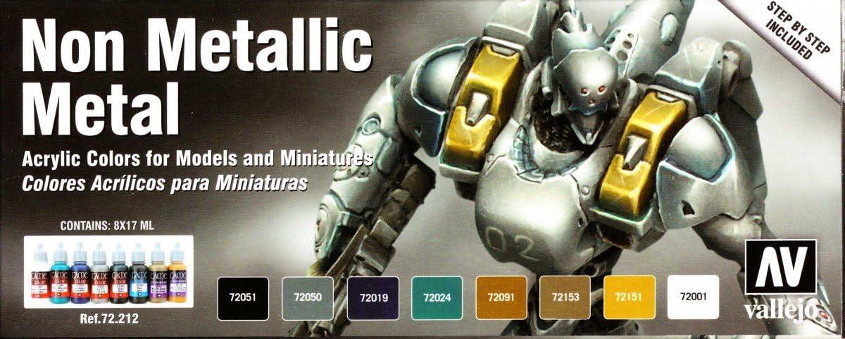 Vallejo Game Color: Set: Non Set by Metal 8 2020モデル Metallic 無料サンプルOK