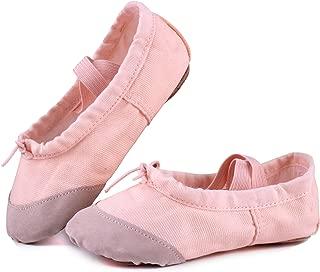 Ballet Slipper Shoes Split-Sole Dance Flat for Girls (Toddler/Little Kid/Big Kid)