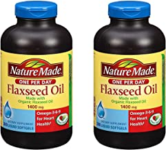 Best flaxseed oil 1400 mg omega 3-6-9 Reviews