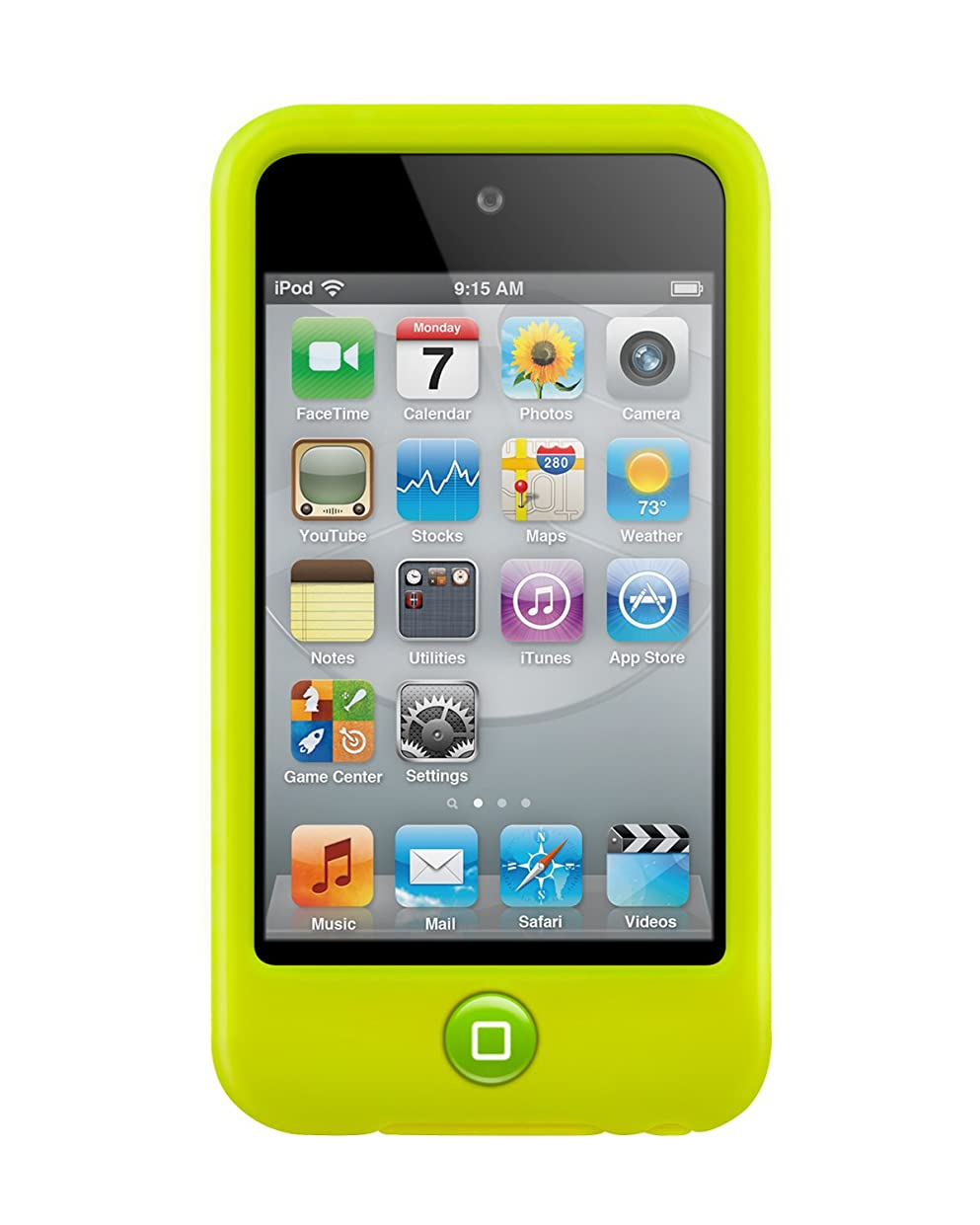 調整する幾分病気だと思うSwitchEasy Colors for iPod touch 4G Lime
