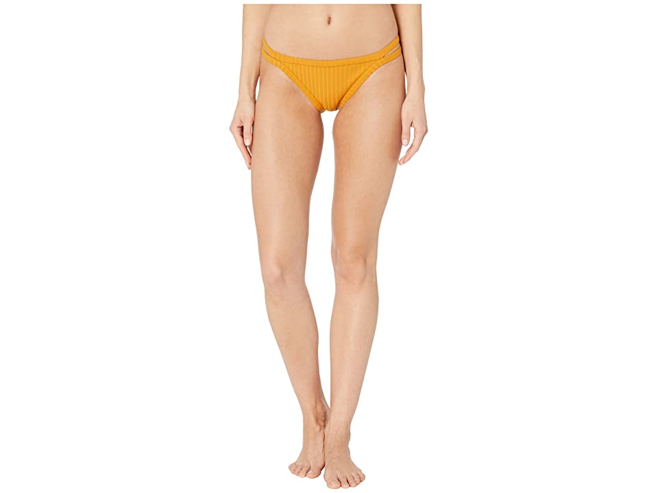Roxy Color My Life Regular Fit Swimsuit Bottoms (Inca Gold) Women