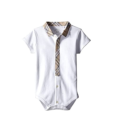 Burberry Kids Tannar Bodysuit (Infant)