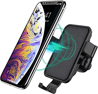 CHOETECH Wireless Car Charger, Auto-Clamping Air Vent Phone Holder with Aroma Diffuser,10W Max Fast Charging Car Mount Compatible with iPhone 11/11 Pro/11 Pro Max/XS Max/XS/X/8,Galaxy Note 10/S10/S9