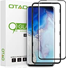 Oneplus 7 Pro Screen Protector Tempered Glass, OTAO 3D Curved Dot Matrix Glass Screen Protector with Installation Tray for OnePlus 7 Pro and OnePlus 7 Pro 5G (Case Friendly)
