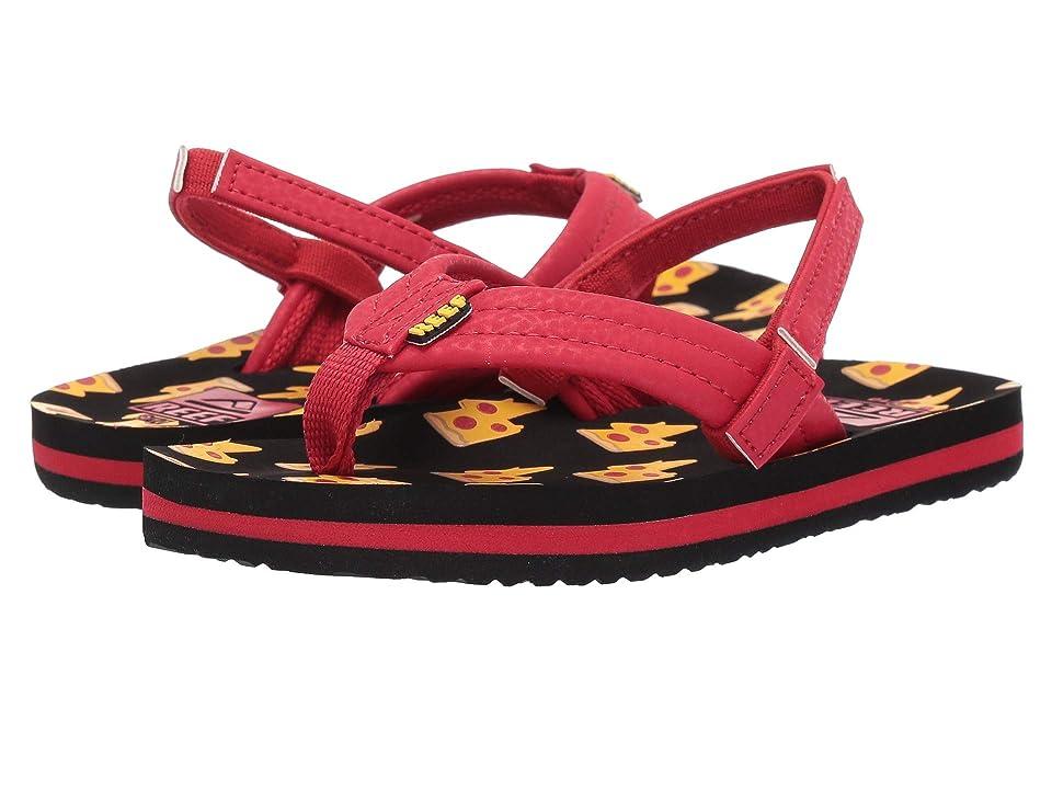 Reef Kids Ahi (Infant/Toddler/Little Kid/Big Kid) (Pizza Bolt) Boys Shoes