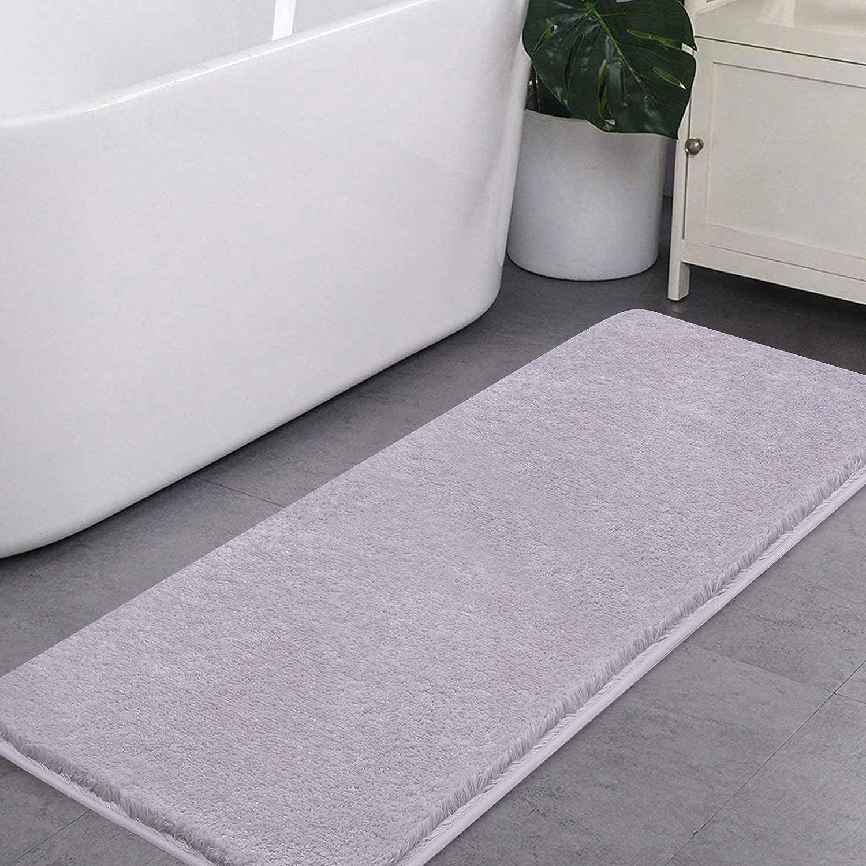 VANZAVANZU Bathroom Rugs Ultra Soft Non Fluffy Absorbent Free shipping Max 89% OFF on posting reviews Th Slip
