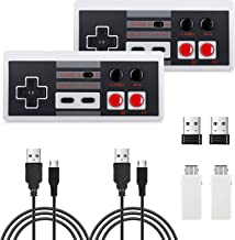 Sponsored Ad - 2 Pack NES Wireless Controller, AGPTEK NES Classic Controller Wireless for Nintendo Classic Mini Edition an...