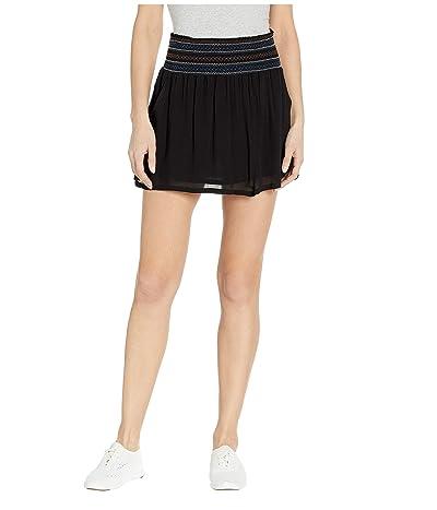 Carve Designs Rose Skirt (Black) Women
