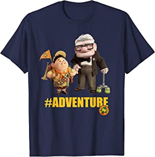 Disney Pixar Up Carl and Russell #Adventure T-Shirt