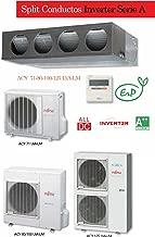 Equipo de aire acondicionado modelo 2013 con bomba frío/calor, bajo nivel sonoro. Equipo inverter. Calidad/precio excepcional. Fujitsu Conductos