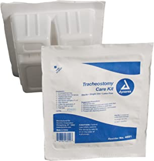 Dynarex Trach Kit with Gloves Sterile, 20 Count