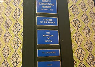 Reader's Digest Condensed Books Volume2 1974 (A Member of the Family, The Kappillan of Malta, In Darkness, Jaws, Volume 2)